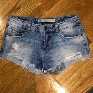 Zara cutoff shorts